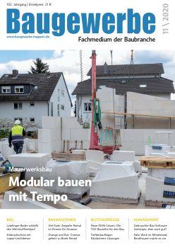 Baugewerbe 11/2020 Digital