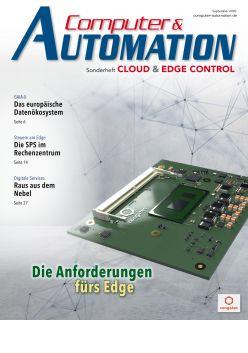 Computer & AUTOMATION Sonderheft Cloud & Edge Control 2020 Digital