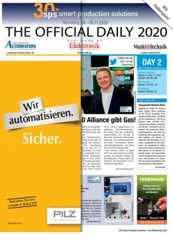 Tageszeitung SPS 2019 Tag 2 Digital