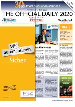 Tageszeitung SPS 2019 Tag 3 Digital