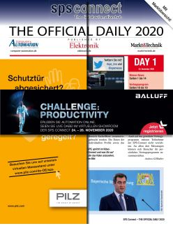 Tageszeitung SPS 2020 Tag 1 Digital
