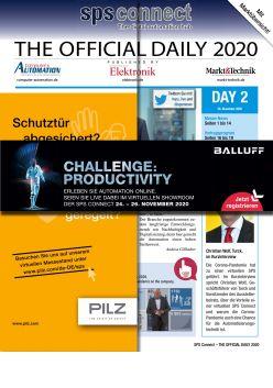 Tageszeitung SPS 2020 Tag 2 Digital
