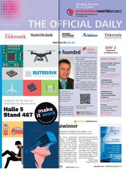 Tageszeitung embedded world 2020 Tag 2 Digital