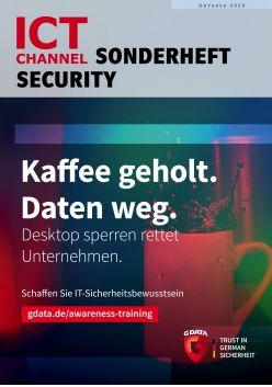 ICT CHANNEL Sonderheft Security 2020 Digital