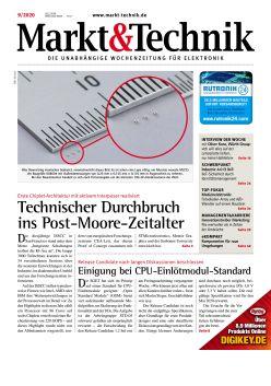 Markt&Technik 09/2020 Digital