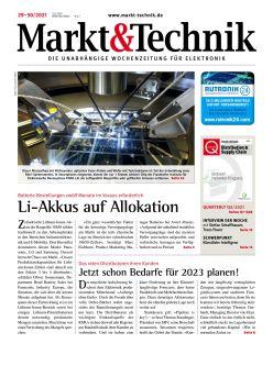 Markt&Technik 29-30/2021 Digital