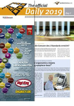 Tageszeitung productronica 2019 Tag 1 Digital