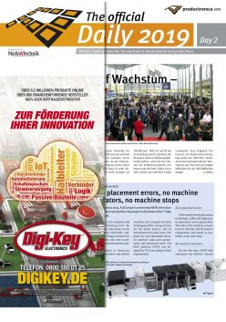 Tageszeitung productronica 2019 Tag 2 Digital