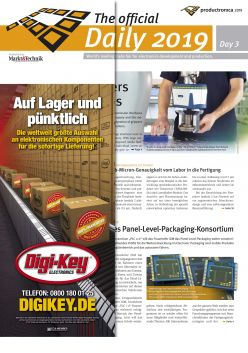 Tageszeitung productronica 2019 Tag 3 Digital