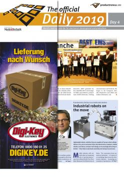 Tageszeitung productronica 2019 Tag 4 Digital