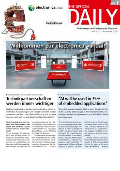 Tageszeitung electronica 2020 Tag 1 Digital