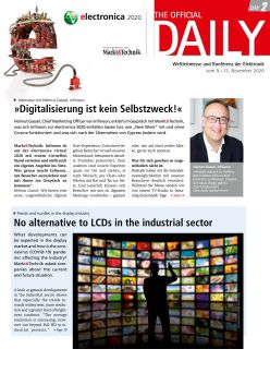 Tageszeitung electronica 2020 Tag 2 Digital
