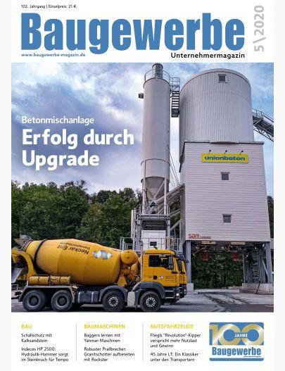 Baugewerbe 05/2020 Digital