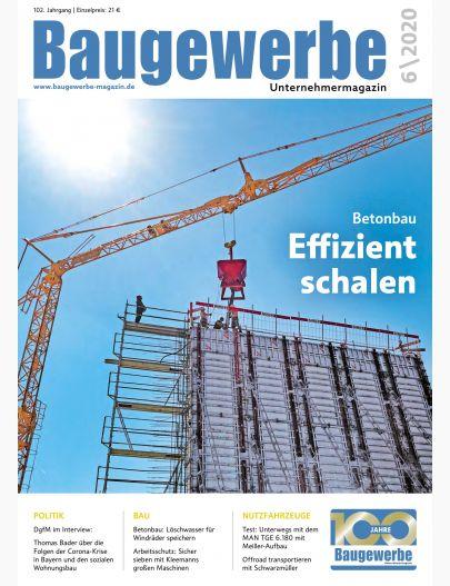 Baugewerbe 06/2020 Digital