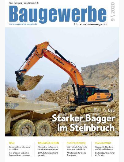 Baugewerbe 09/2020 Digital