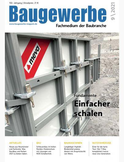 Baugewerbe 09/2021 Digital