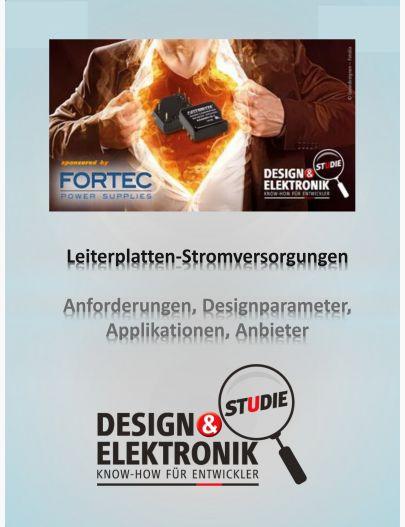 DESIGN&ELEKTRONIK Studie Leiterplatten-Stromversorgungen 2016 Digital