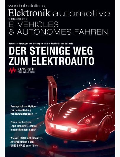 Elektronik automotive 10/2020 Digital