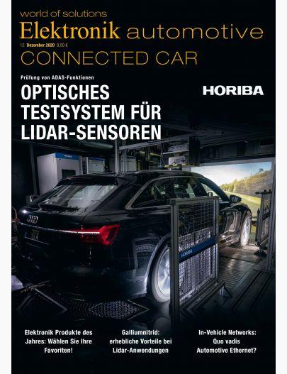 Elektronik automotive 12/2020 Digital