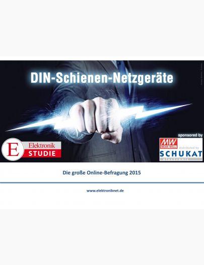 Elektronik Studie DIN-Schienen-Netzgeräte 2015 Digital