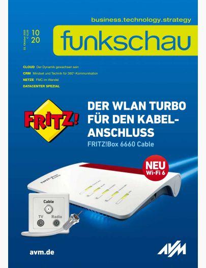 funkschau 10/2020 Digital