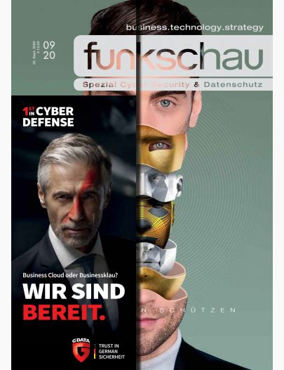 funkschau Spezial Cyber Security & Datenschutz 2020 Digital