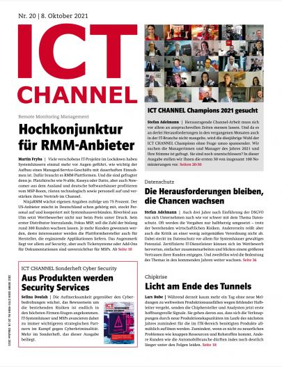 ICT CHANNEL 20/2021 Digital