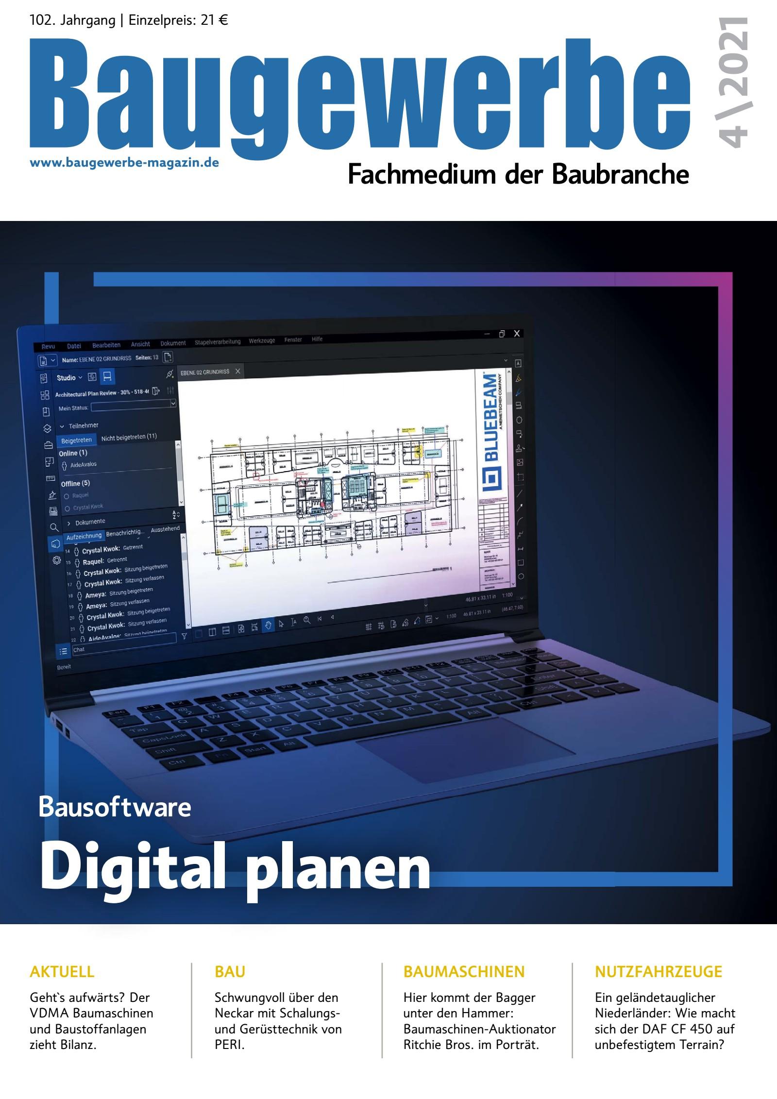 Baugewerbe 04/2021 Digital