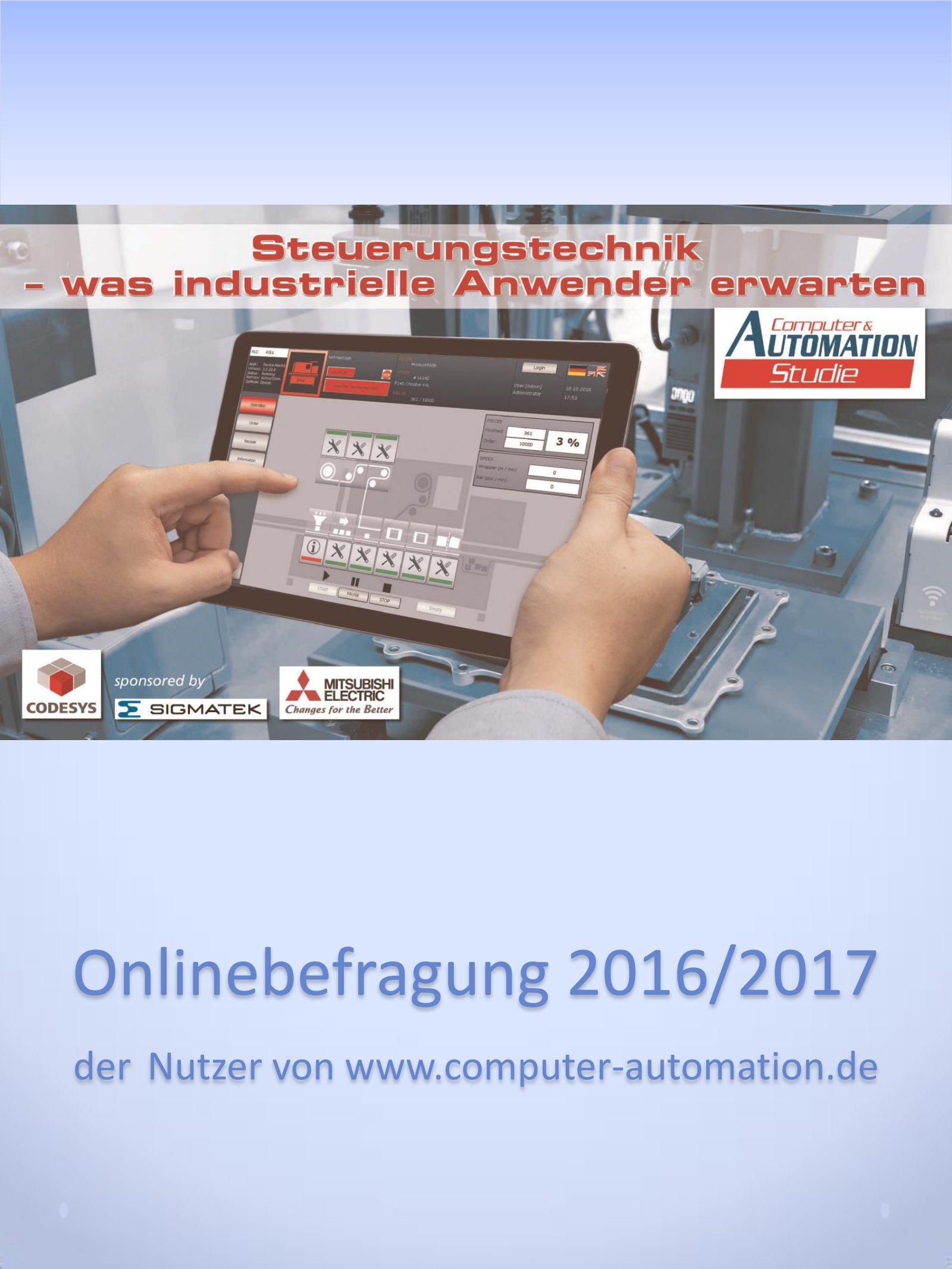 Computer&AUTOMATION Studie Steuerungstechnik 2017 Digital