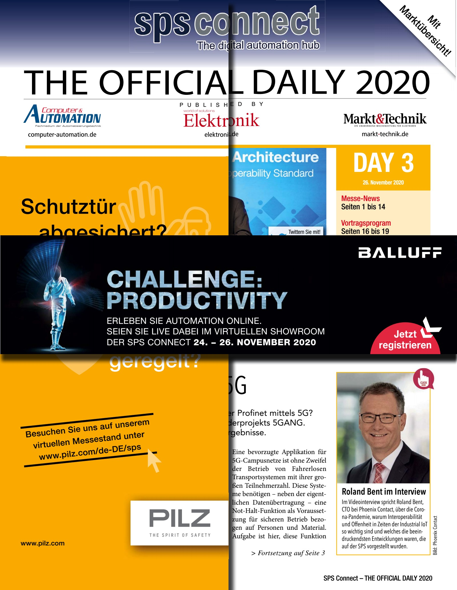 Tageszeitung SPS 2020 Tag 3 Digital