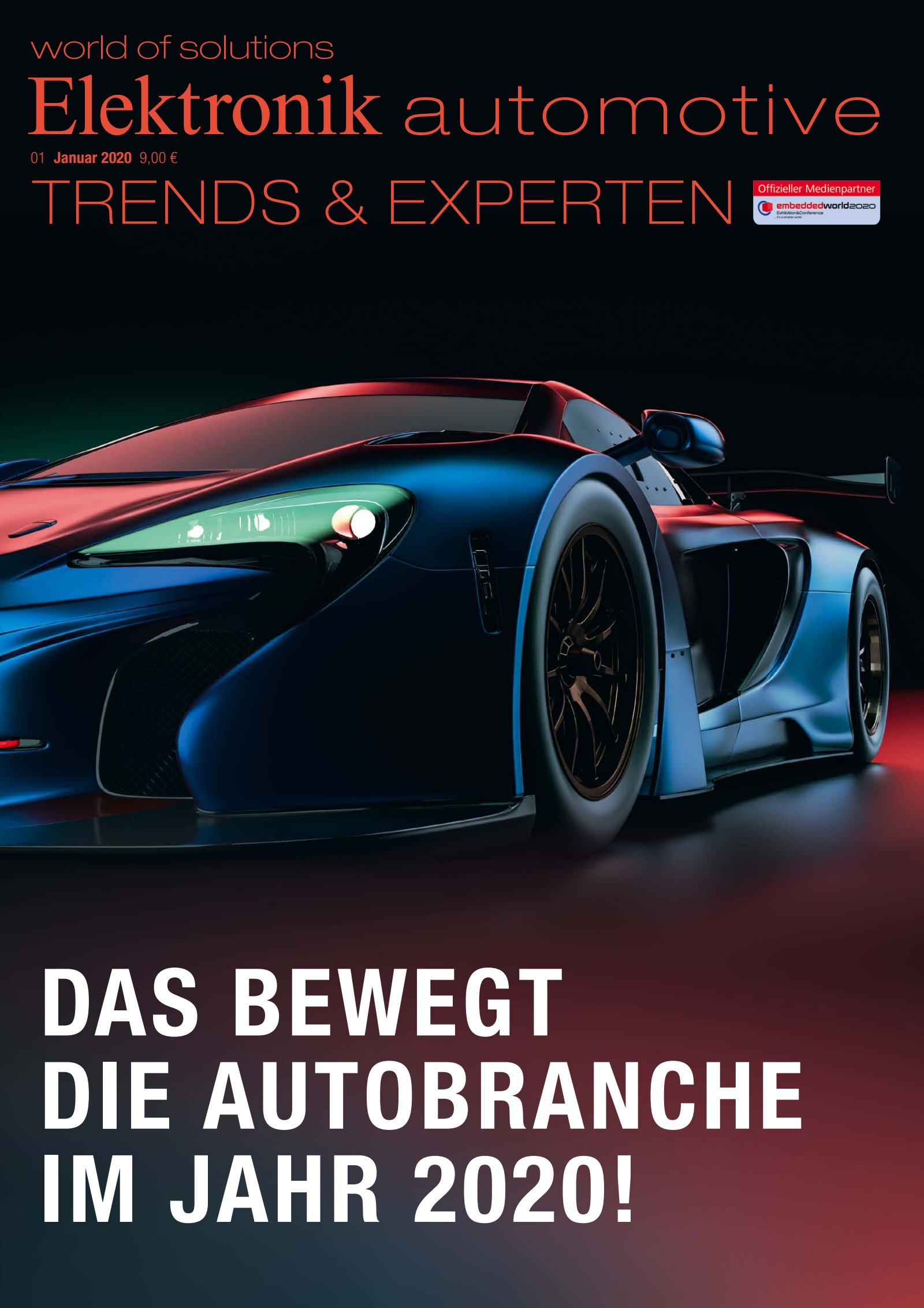Elektronik automotive 01/2020 Digital