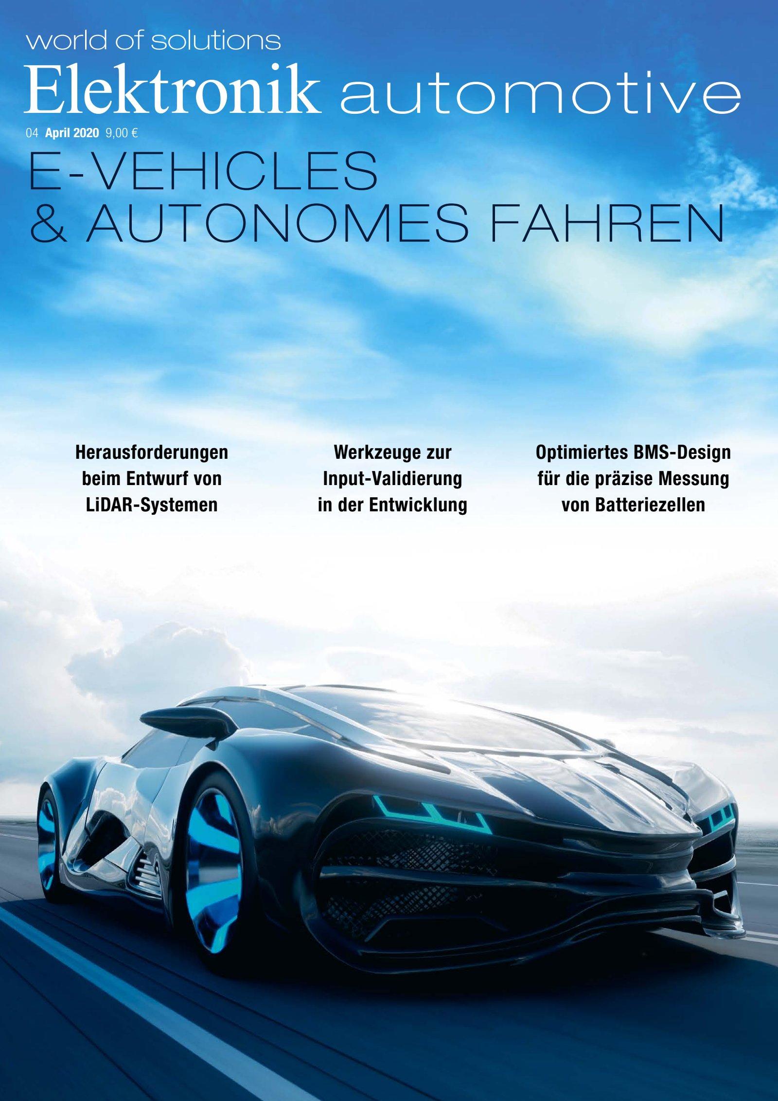 Elektronik automotive 04/2020 Digital
