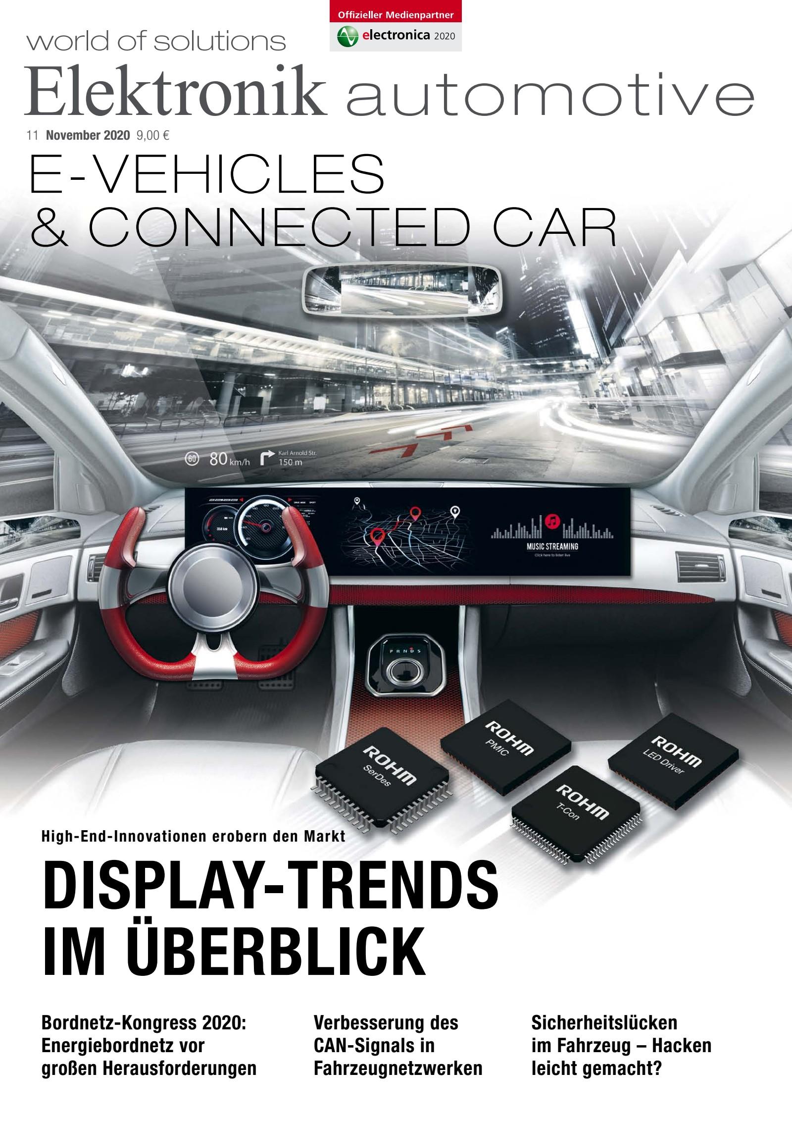 Elektronik automotive 11/2020 Digital