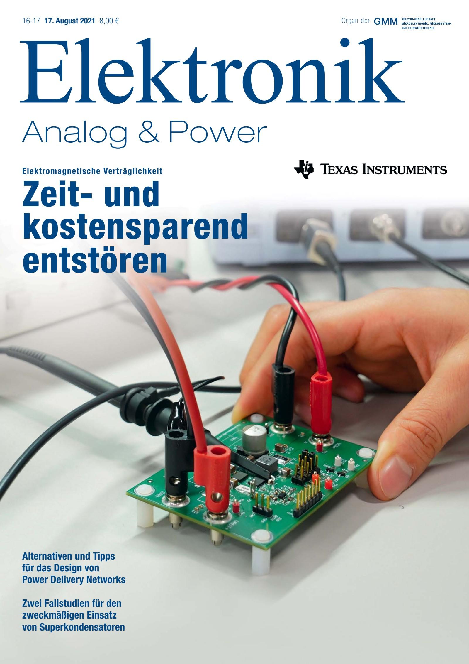 Elektronik 16-17/2021 Digital