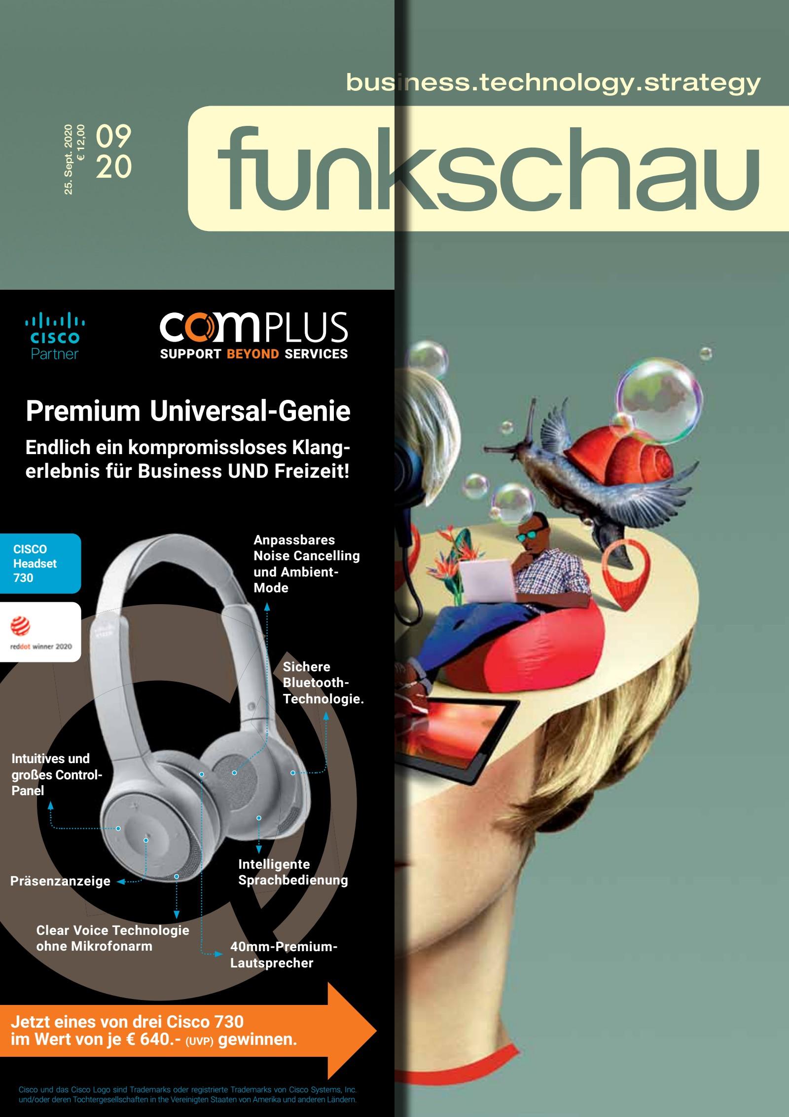 funkschau 09/2020 Digital