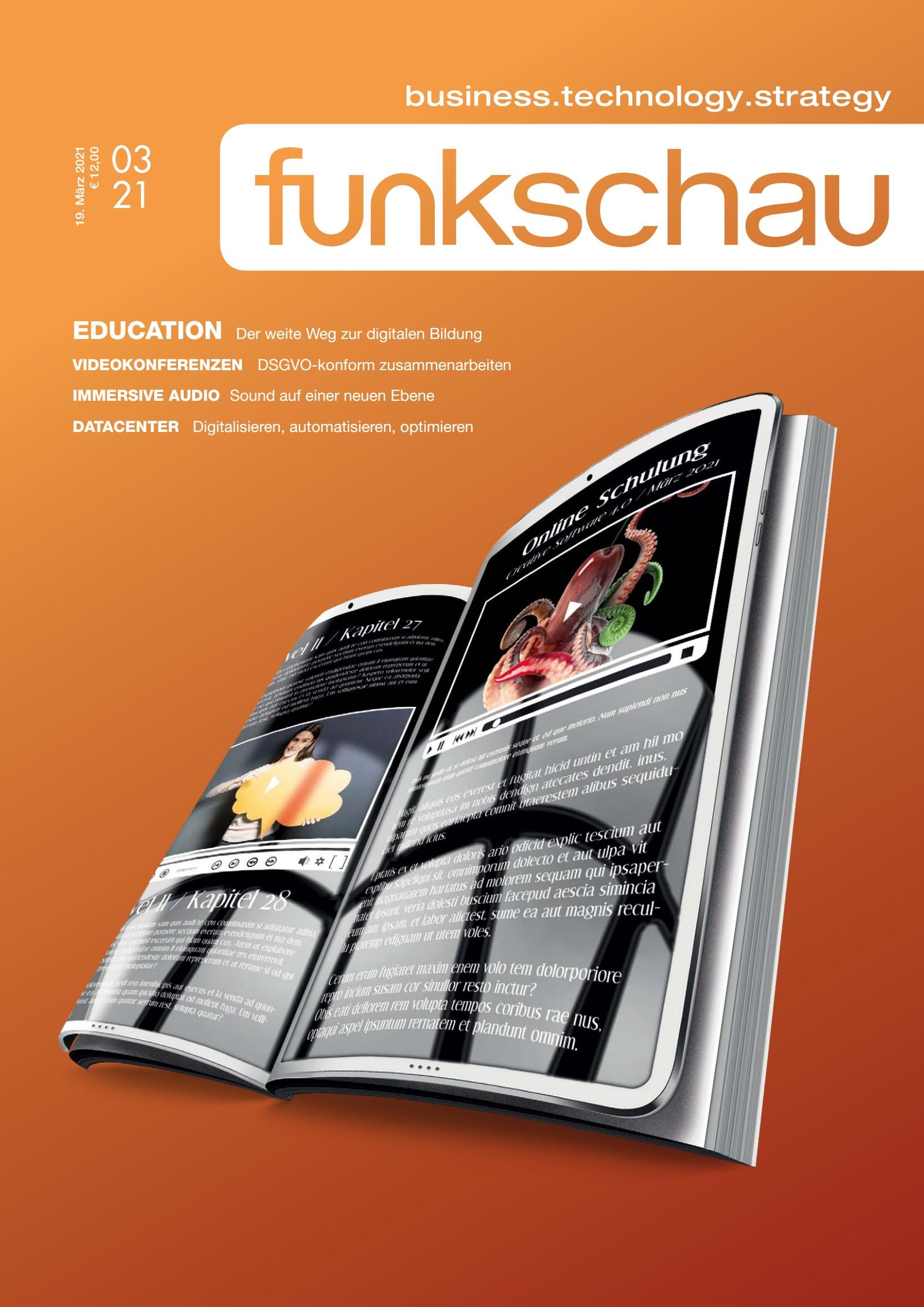 funkschau 03/2021 Digital