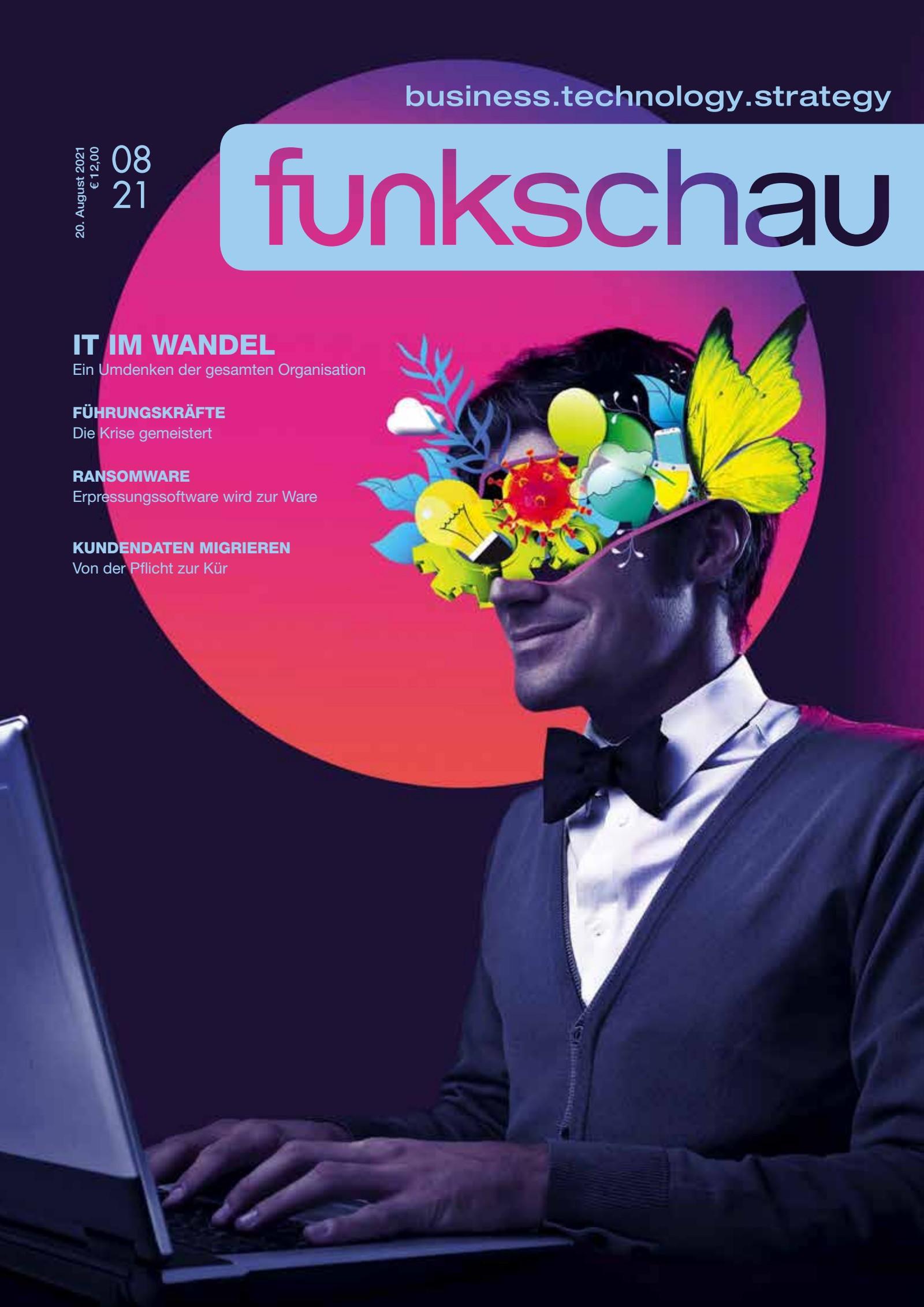 funkschau 08/2021 Digital