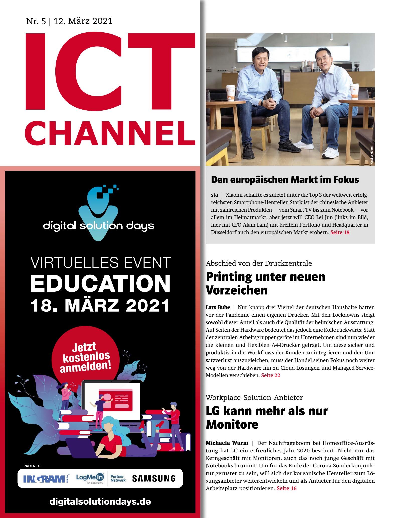 ICT CHANNEL 05/2021 Print