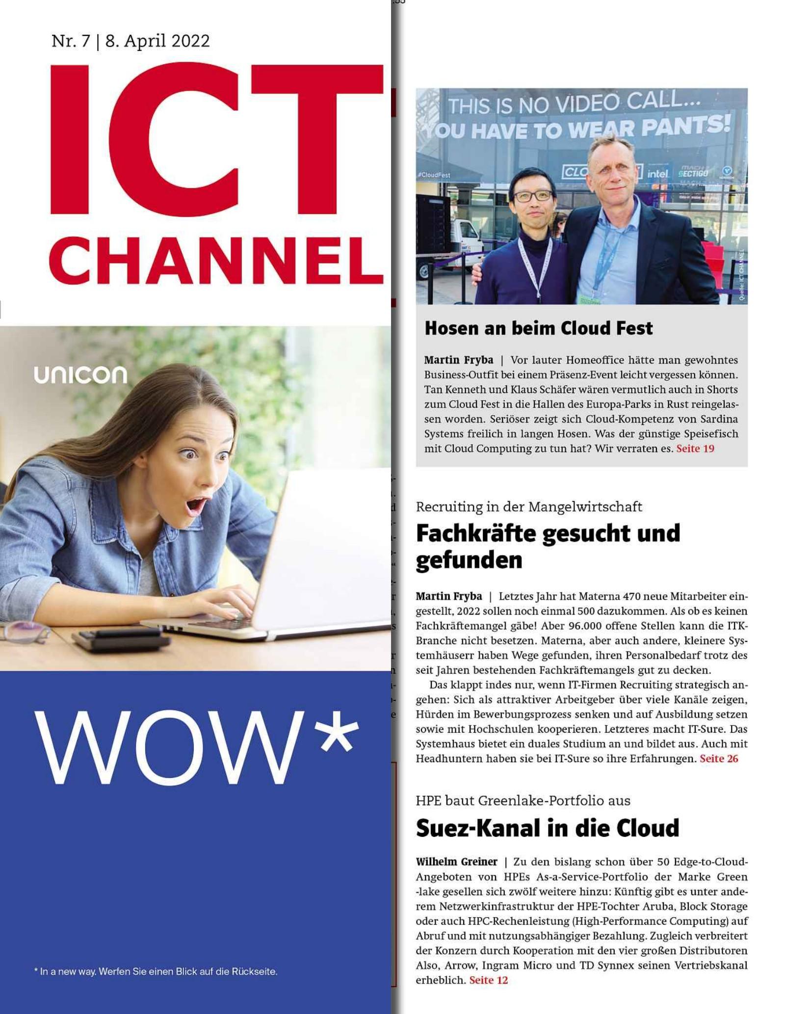ICT CHANNEL 07/2021 Digital