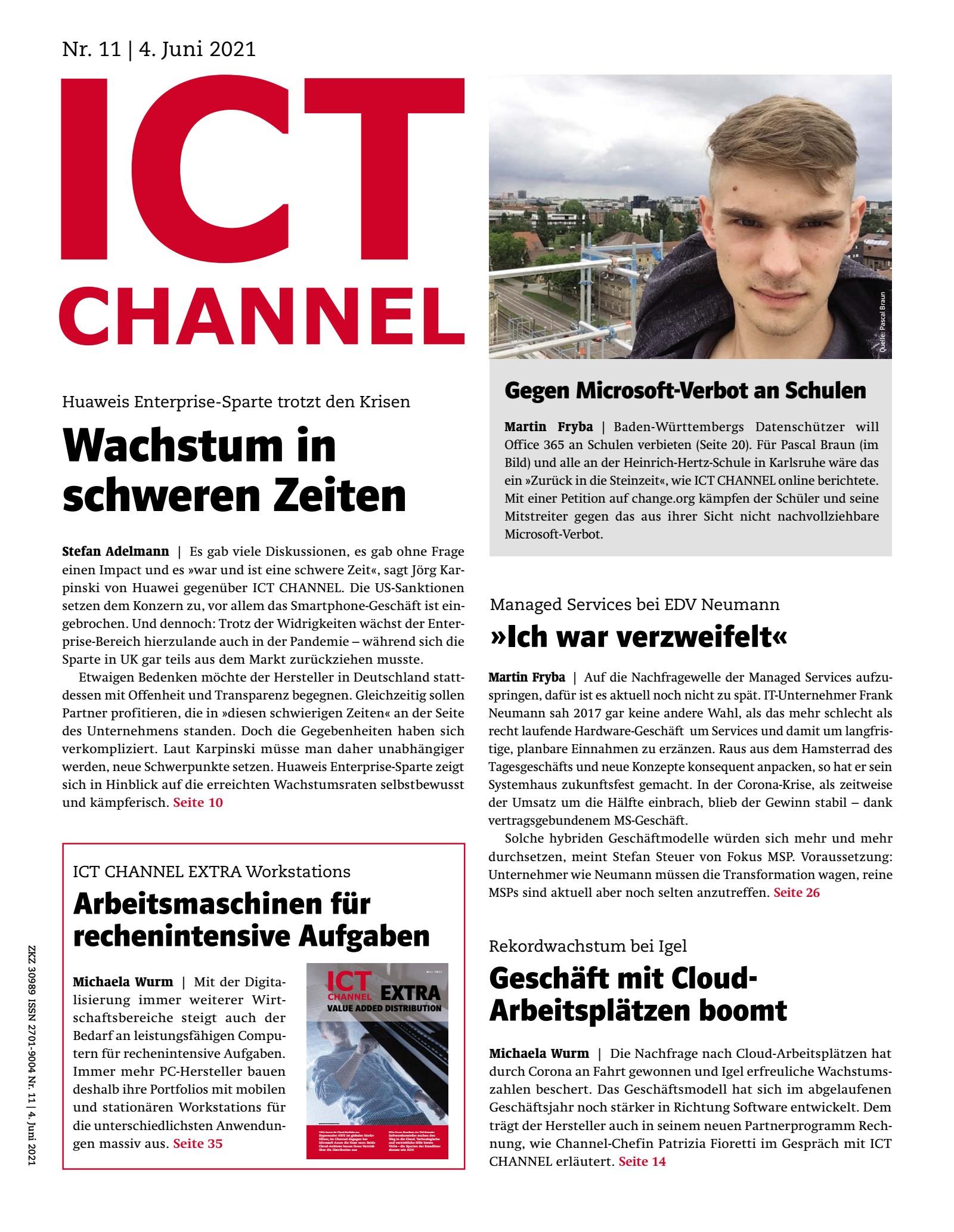 ICT CHANNEL 11/2021 Digital