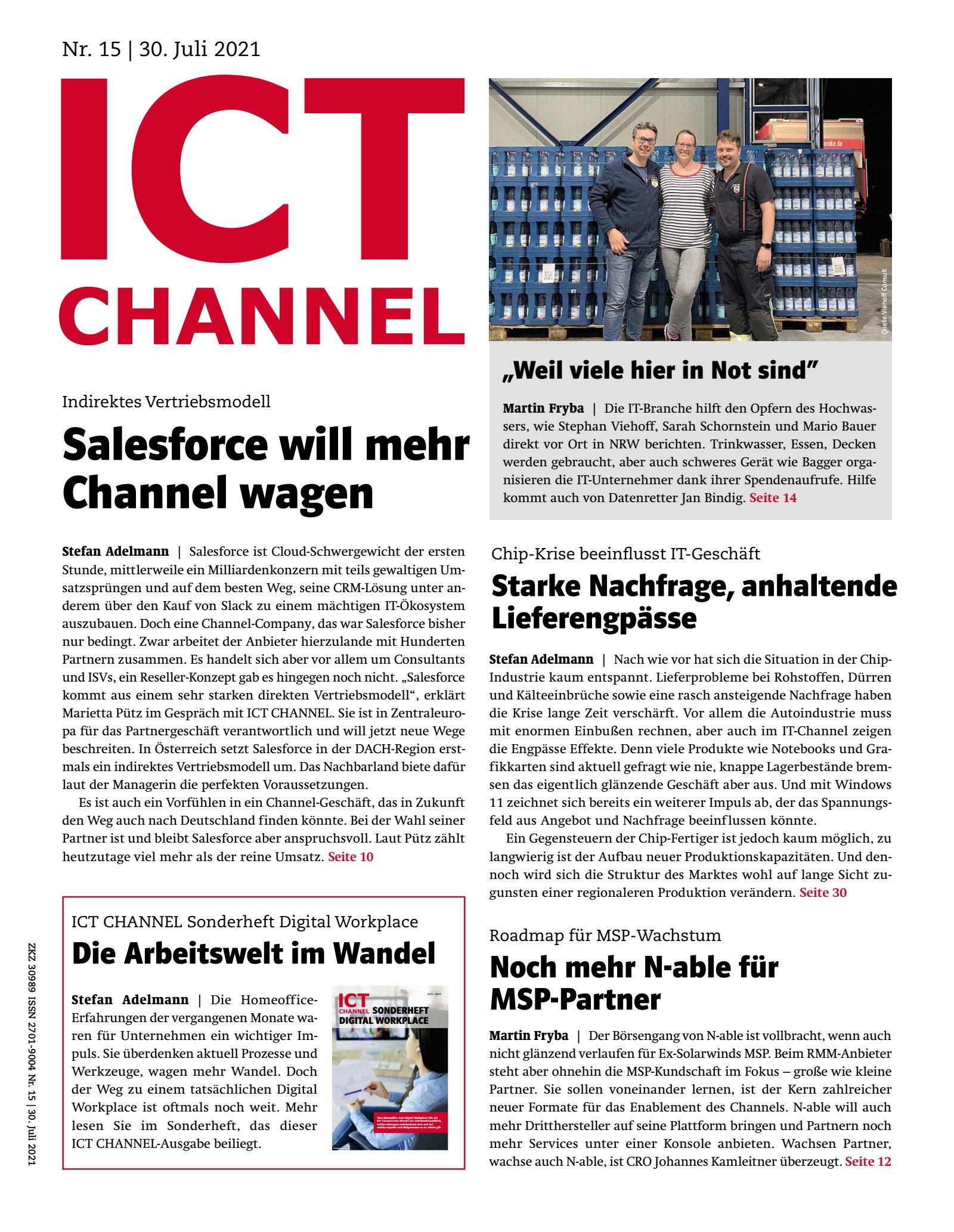 ICT CHANNEL 15/2021 Digital