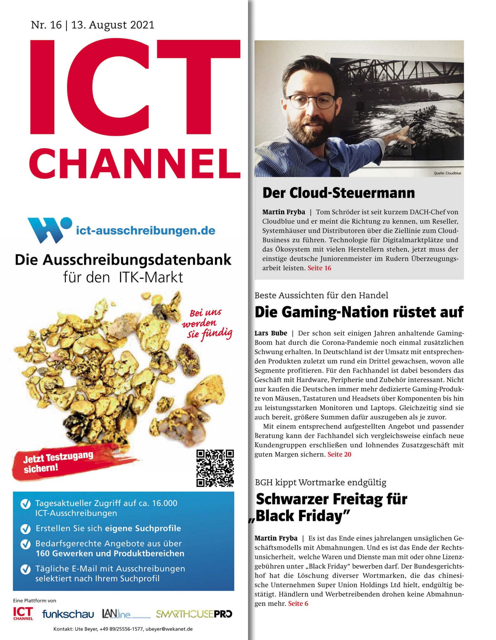 ICT CHANNEL 16/2021 Digital