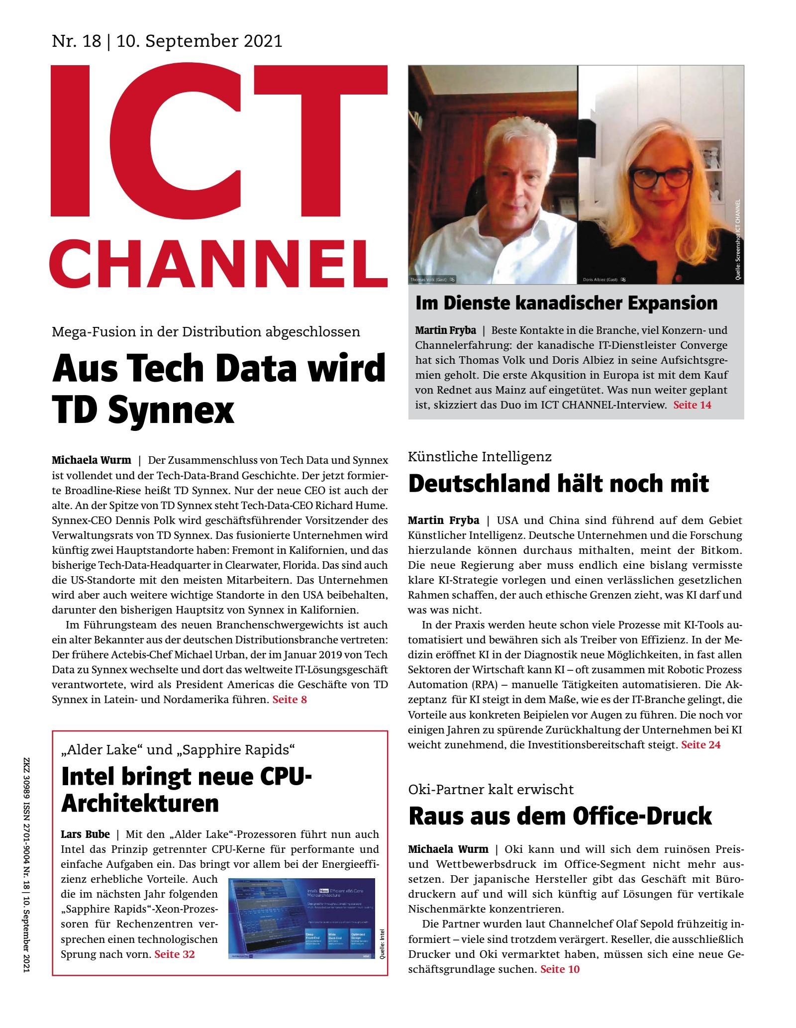 ICT CHANNEL 18/2021 Digital