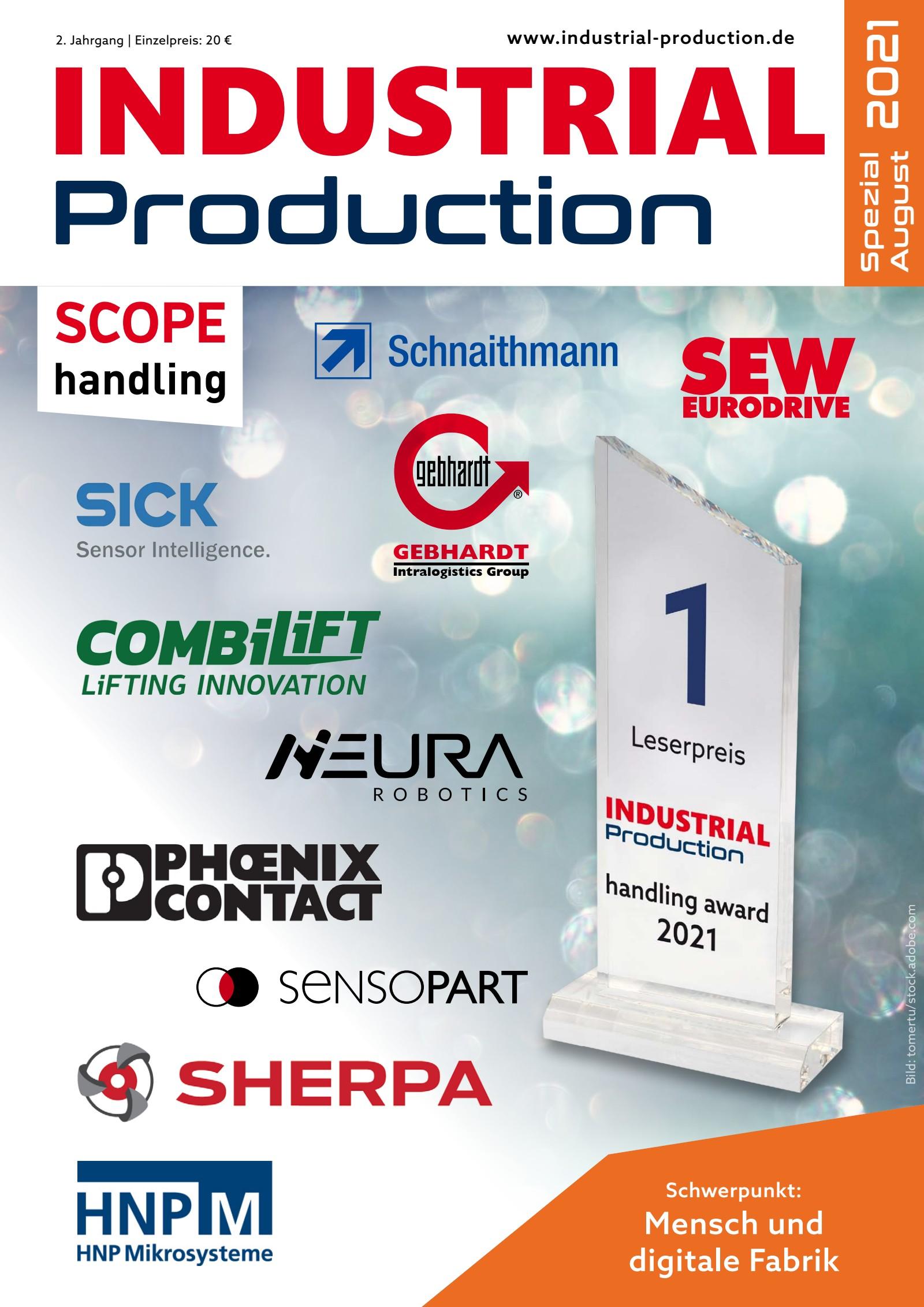 INDUSTRIAL Production Spezial / August 2021 Digital