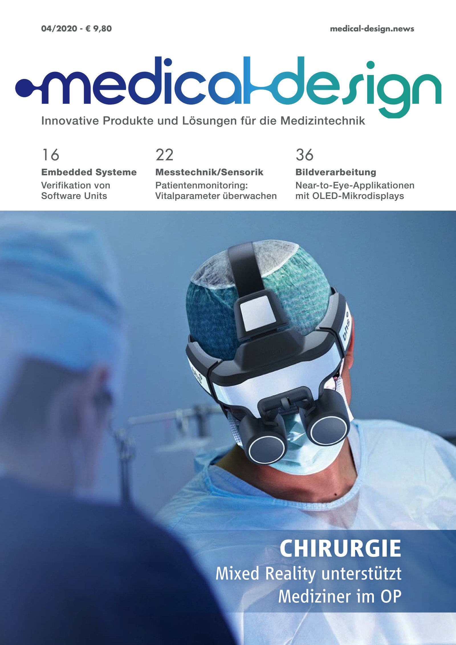 medical design 04/2020 Digital