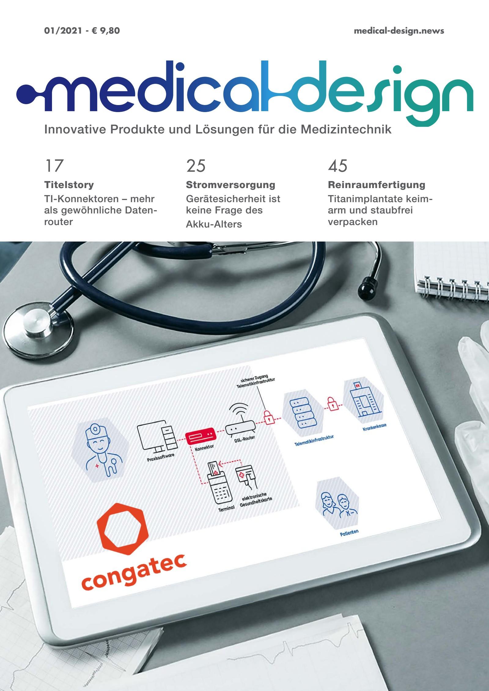 medical design 01/2021 Digital