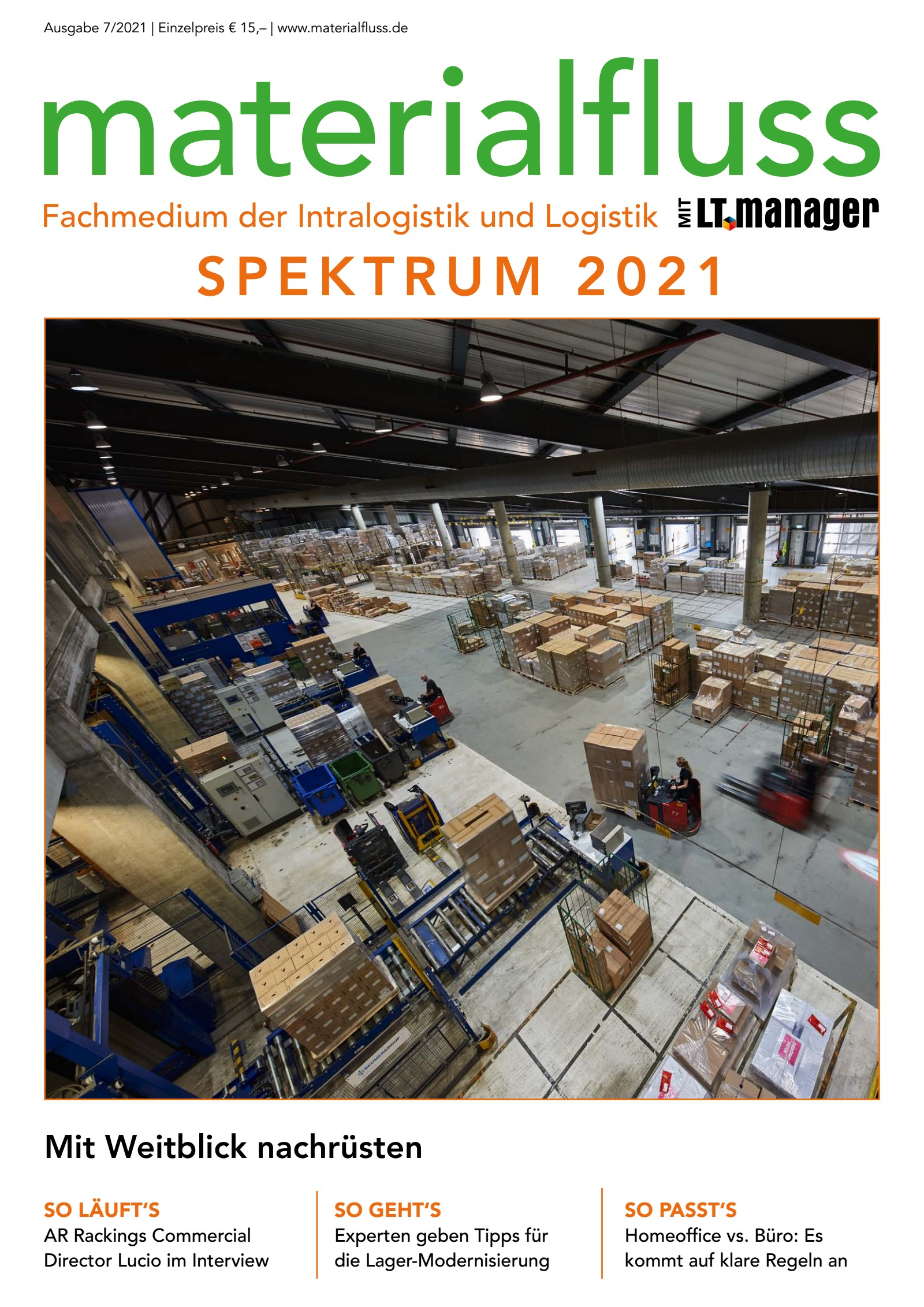 materialfluss SPEKTRUM 2021 Print