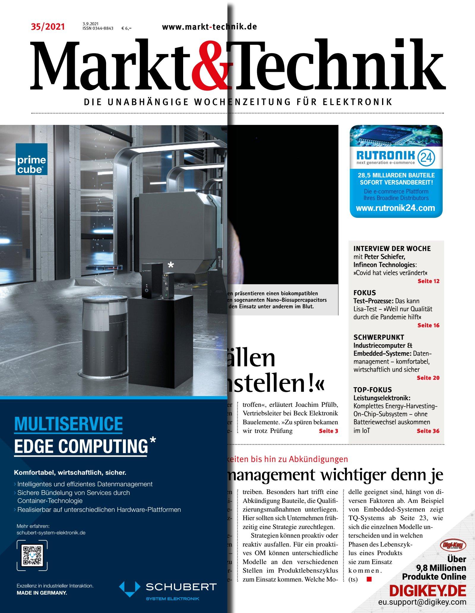 Markt&Technik 35/2021 Digital