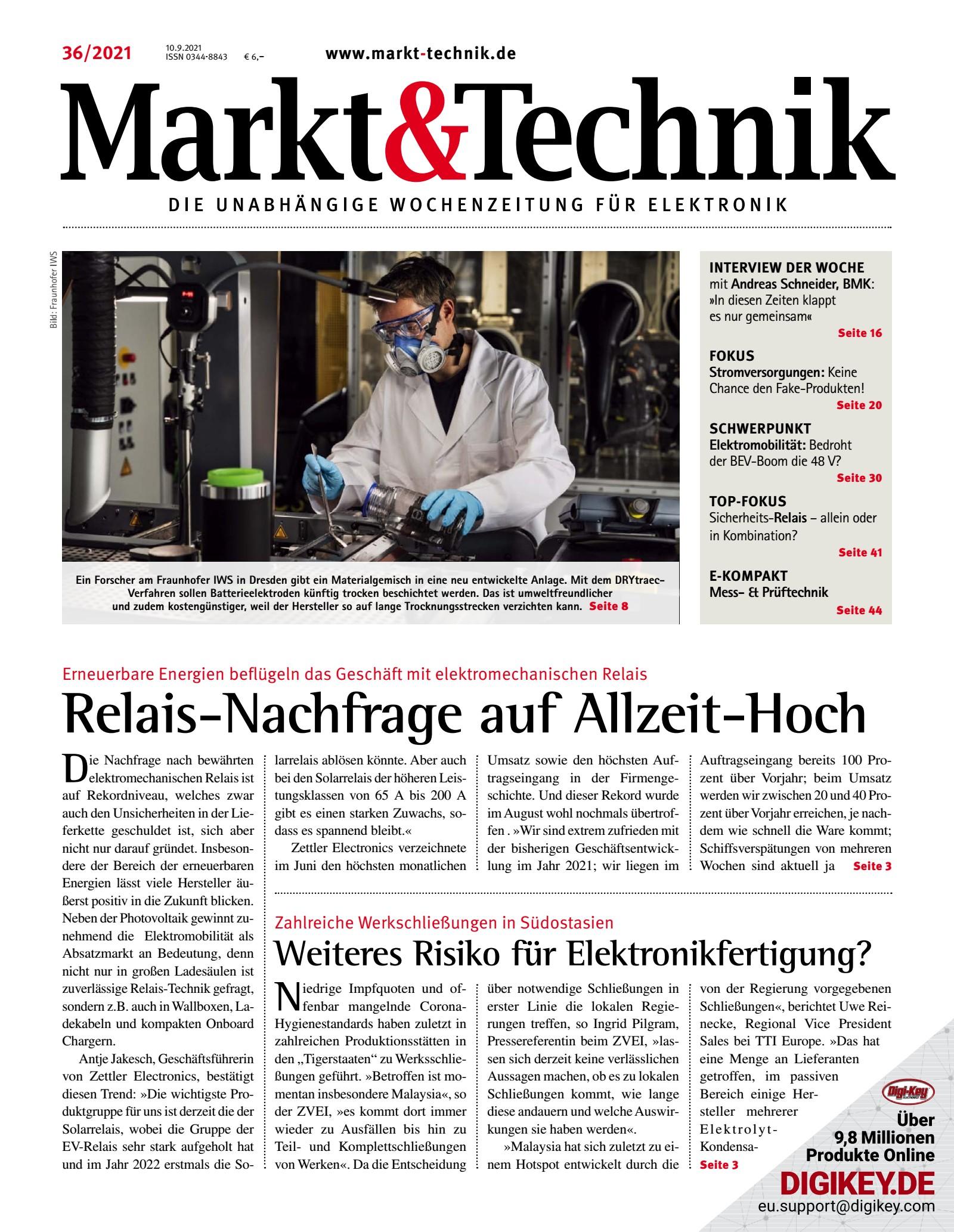 Markt&Technik 36/2021 Digital
